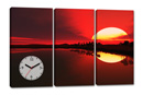 AFRICAN SUNSET 3 (con orologio)